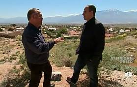 Desert Hot Springs Mayor and Marcus Lemonis