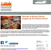 main website image for Bowery Kitchen Supplies