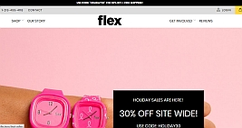 main website image for Flex Watches