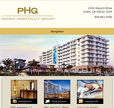 main website image for Pacific Hospitality