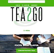 main website image for Tea2Go