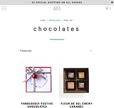 main website image for Zoe's Chocolate Co.